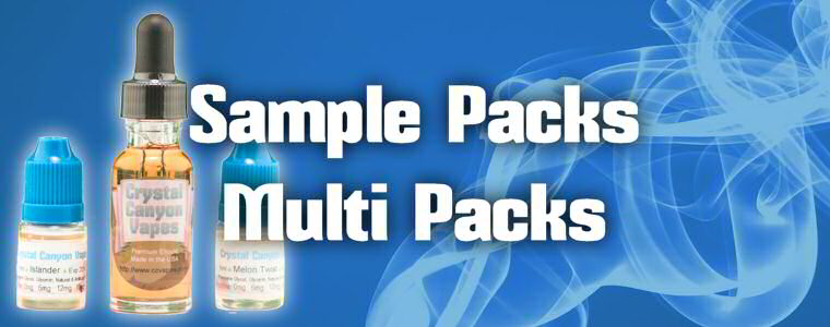 Eliquid Samples & Sample Packs